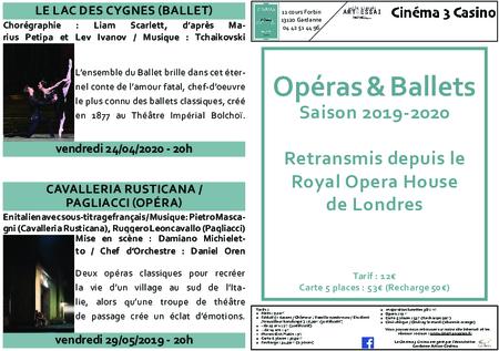 Opéras & Ballets - 2019-2020